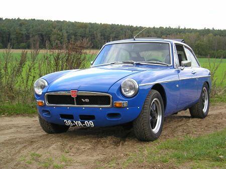 Mgb Gt V8 Mb Gt V8 Origineel Bouwjaar 1976 Aantal Jaar