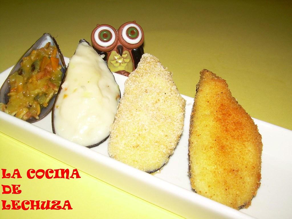 Mejillones Rellenos Pasos Una Lechuza En La Cocina Flickr