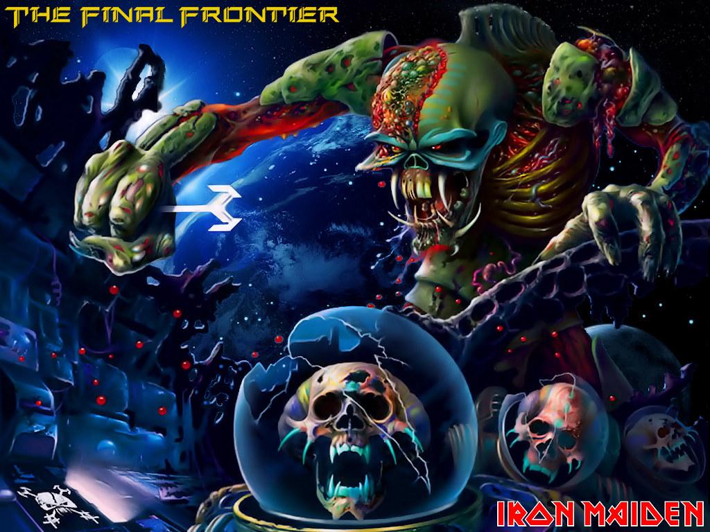 Artwork Wallpaper Iron Maiden Creative Art