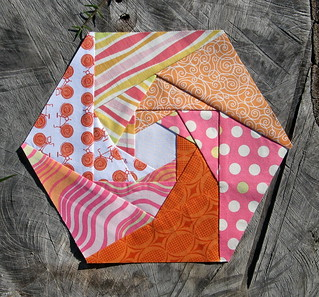 November Hexagon Block for Lynne | by Cut To Pieces
