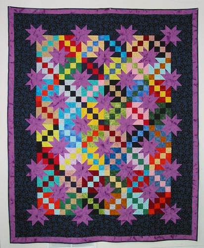 Purple Stars Free Pattern To Download The Free Pattern