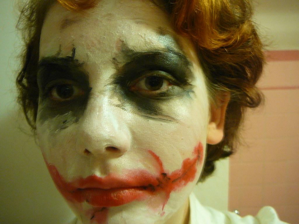 joker face makeup | makeup for halloween | ktdwtt | flickr