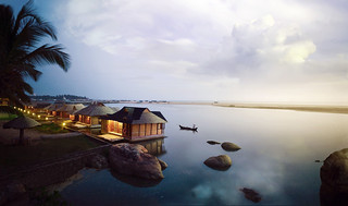 Exterior of Floating Cottages | by Aitken Spence Hotels & Resorts