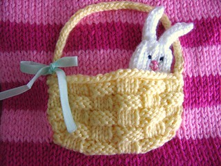 Bunny in a basket | by Anny Purls