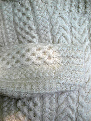 Aran close-up | by coco knits