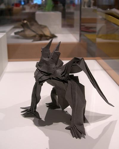 origami gargoyle by jason ku from the origami now