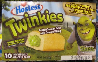 2010 Hostess Twinkies with green filling - Shrek promotion | by Paxton Holley