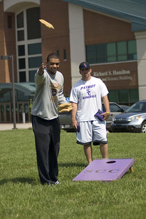 Cornhole on a sunny day | by St. Catharine College