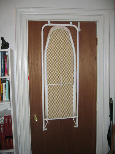 ... Door-hanging ironing board (closed) | by kevinml3 & Door-hanging ironing board (closed) | kevinml3 | Flickr