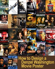 How to Design a Denzel Washington Movie Poster | by littentegnefisk