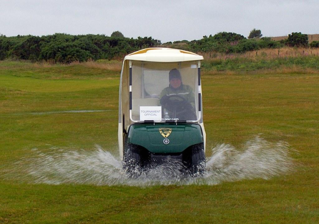 Image result for golf in scotland rain
