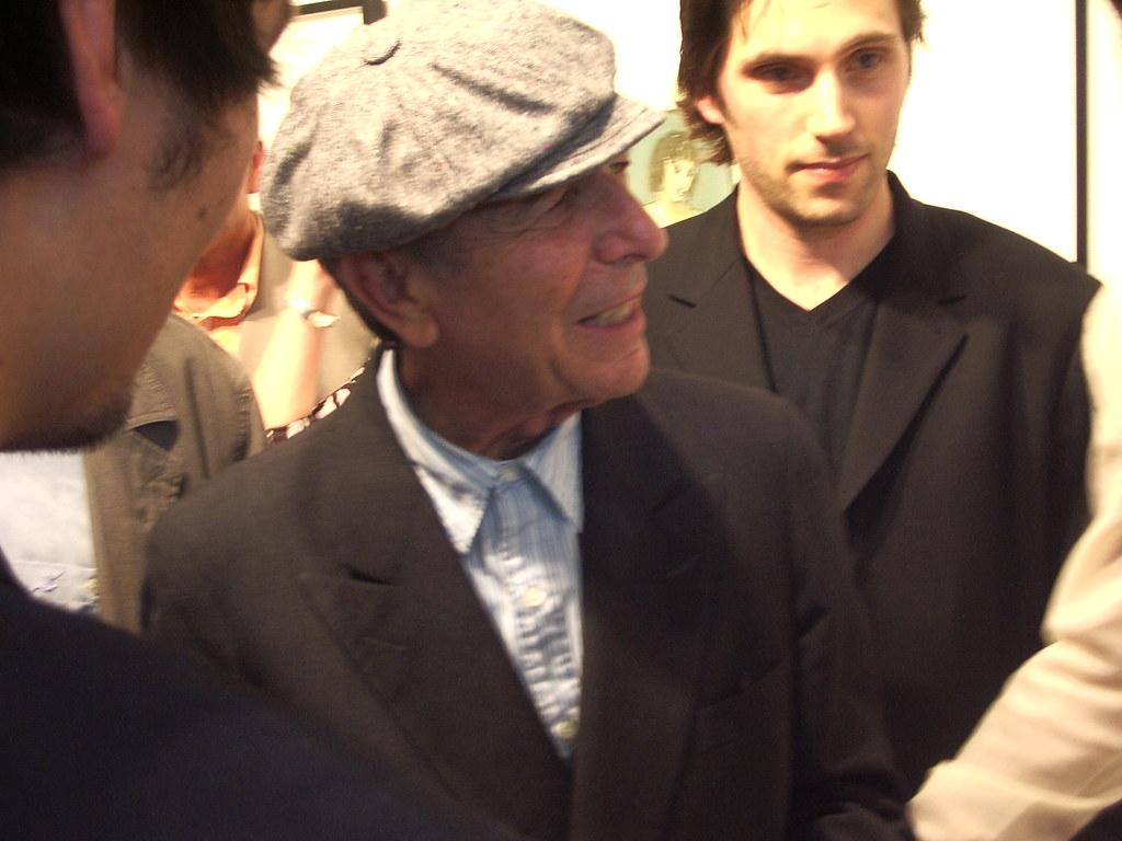 Leonard Cohen @Richard Goodall Gallery, 8th July