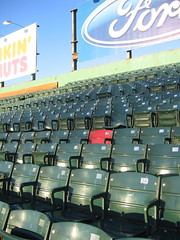 The Ted Williams seat | by permanently scatterbrained