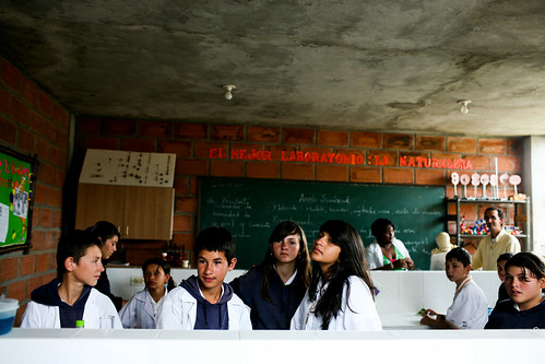 Students at San Jose Secondary School | by World Bank Photo Collection