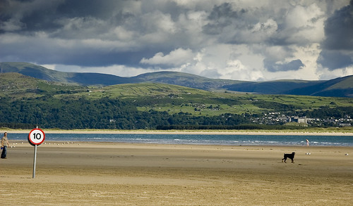 Snowdonia meets Irish Sea | by Joe Dunckley
