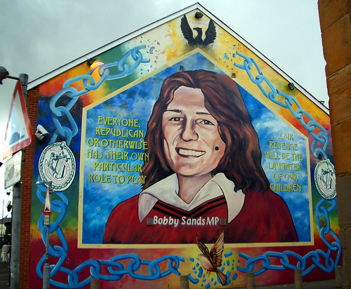 Bobby-Sands-Wandbild in Belfast | by PPCC Antifa