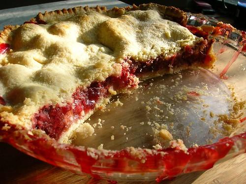Strawberry And Rhubarb Coffee Cake