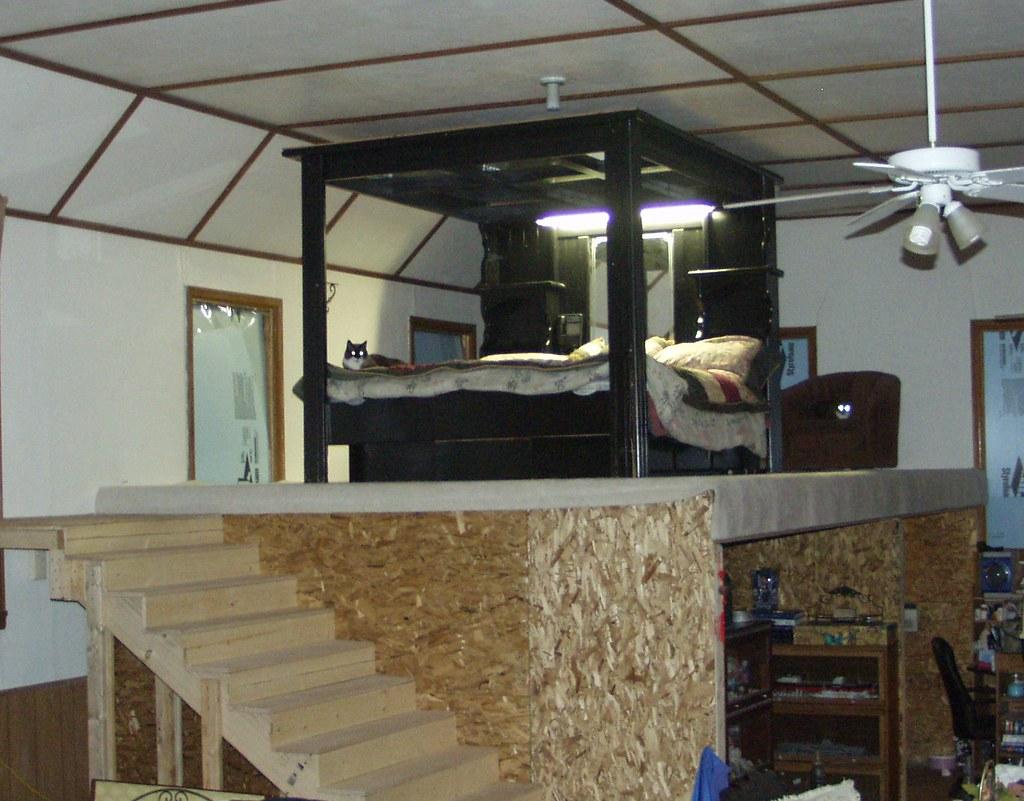 ... Loft Bedroom By Loft Bedroom Under Construction We U0027re Converting A  1940 U0027s U2026 Flickr ...