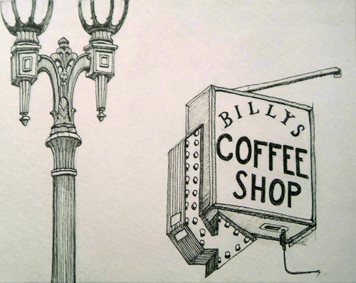 Billys Coffee Shop Pen Paper 10 03 07 From Great Photo