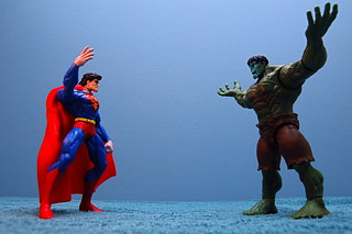Superman vs. Hulk (131/365) | by JD Hancock