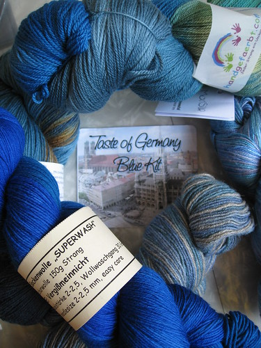 Taste of Germany (blue) | by hizknits