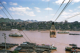 Chongqing Cable Car | by f0rbe5