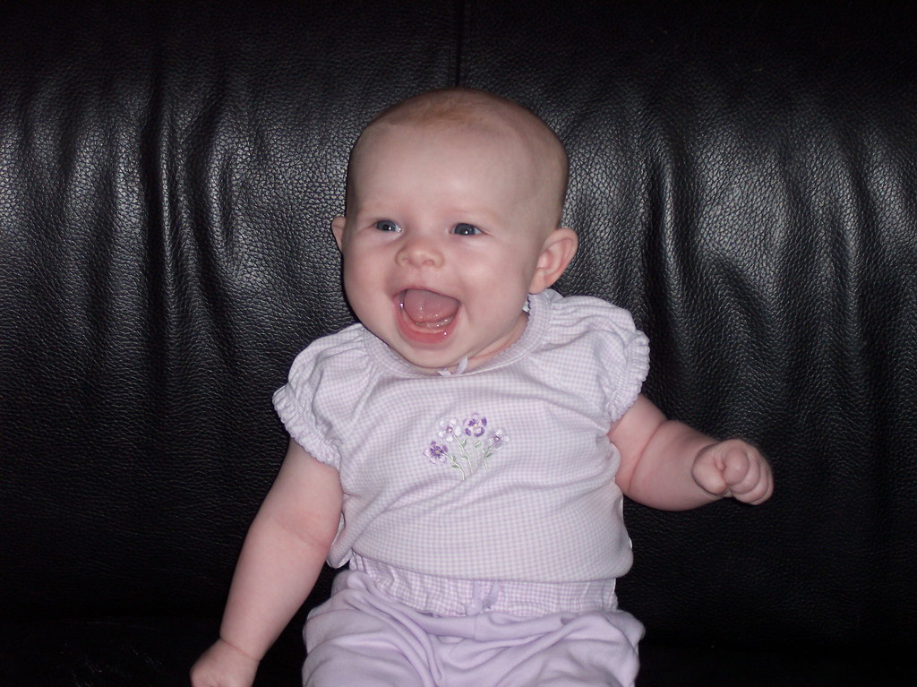 Biggest Smile In The World Im 3 Months Now Seth Roby Flickr