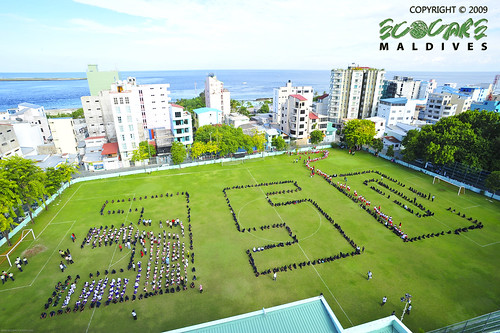"Giant Human ""350"" in Maldives - 04 