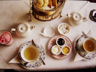afternoon tea for lunch | by Le Portillon