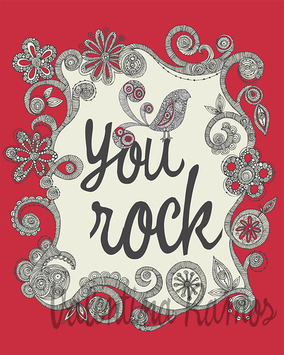You Rock | by valentinadesign