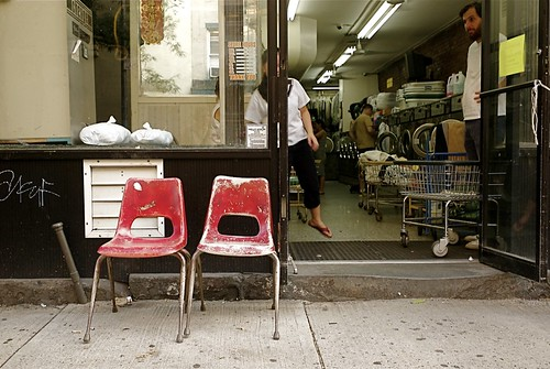 2 red chairs | by Susan NYC