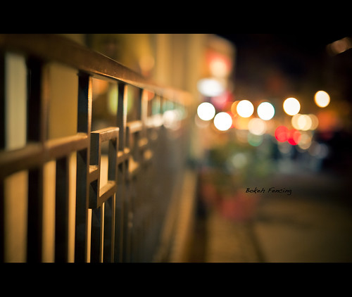Bokeh Fence | by Swedeitis