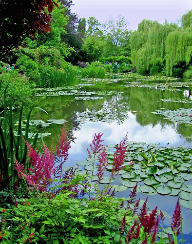 Monet 39 s garden giverny normandy france jenny mackness flickr for Monet s garden france