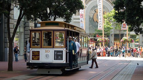 cable car at powell & market | by foggydave
