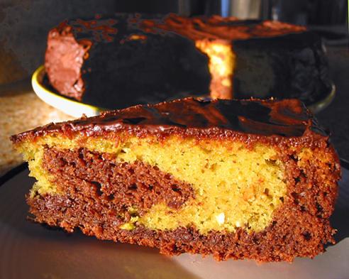 gateau Surprise Pistache Chocolat   Flickr - Photo Sharing!
