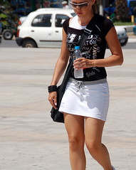 Miniskirted Tourist | by RobW_