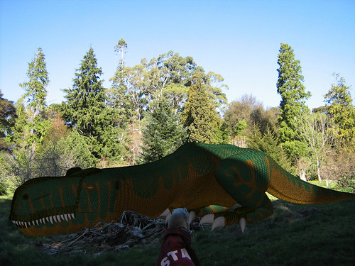 The Sleeping Dragon... well actually T-Rex, but close to a Dragon | by Craig T Dylke