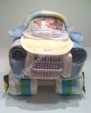 Car Diaper Cake Unique Baby Shower Gifts Car Diaper Cake Flickr