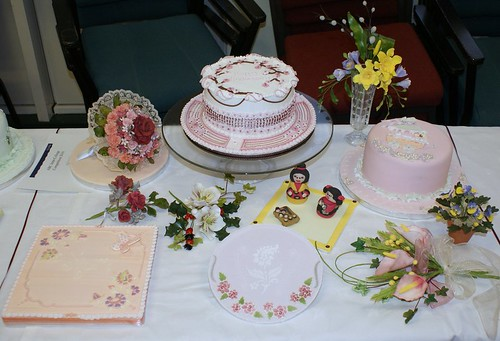Cake Decorating Course Salisbury Uk : Graduation My display at my graduation from cake ...