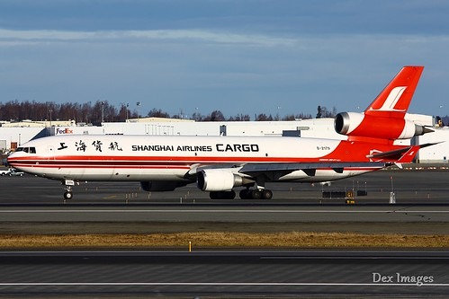 B-2179 Shanghai Airlines Cargo MD-11F | by Brandon Farris Photography