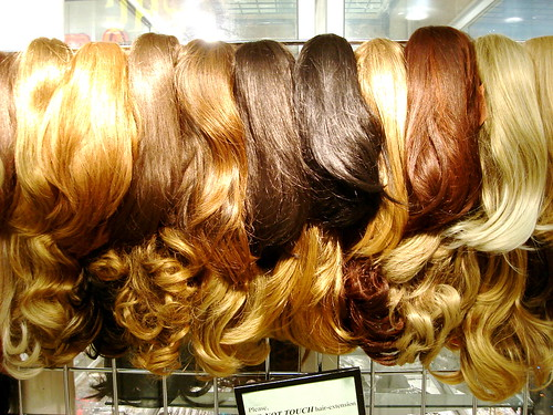 Please DO NOT TOUCH Hair Extensions | by John Kannenberg