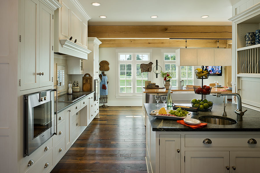 Modern Meets Country Kitchen Full With Applia Flickr
