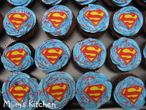 cupcakeSuperman Ordered by Nuni for Farys 4th birthday Flickr
