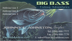 Big bass fishing adventure example of business cards flickr big bass fishing adventure example of business cards by weprintcolor colourmoves