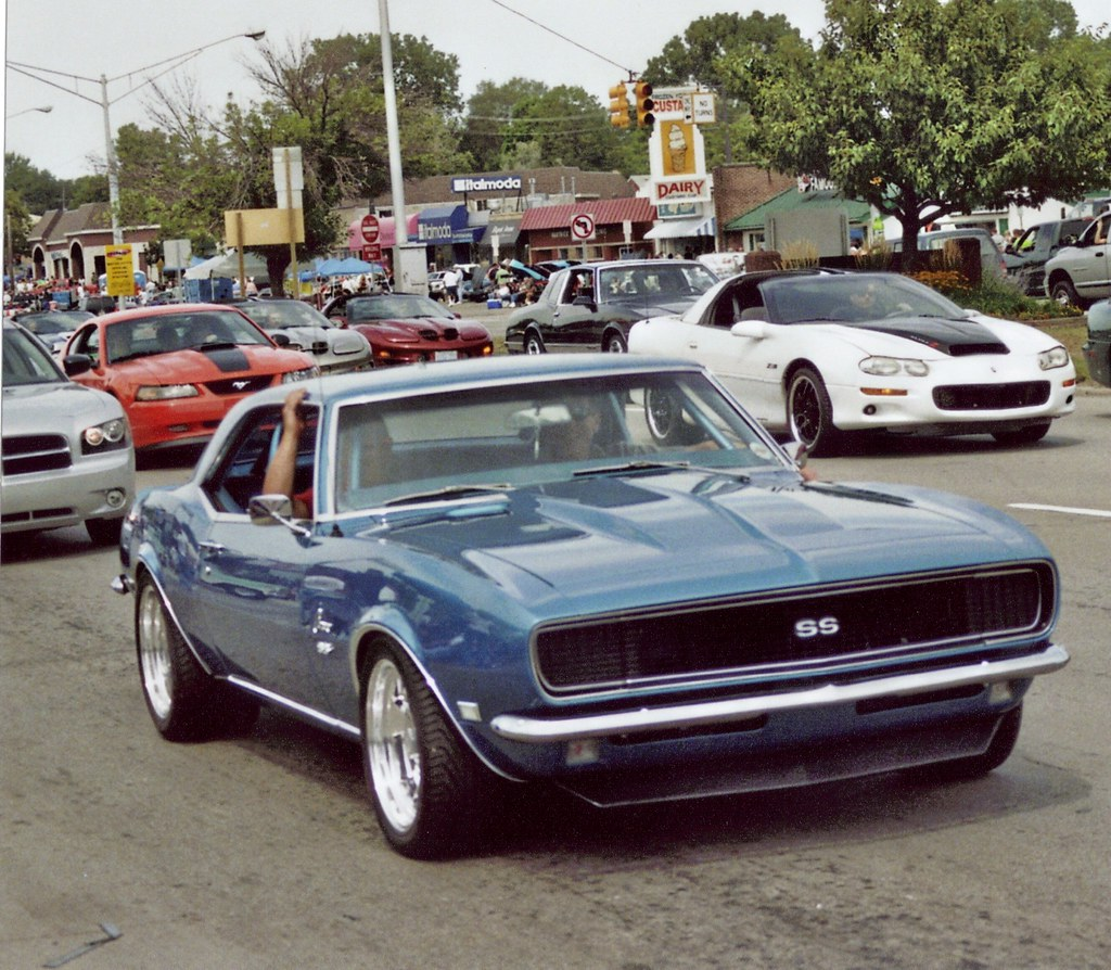 A Blue 1968 Chevy Camaro Heres Camar Flickr Chevrolet By Steve Brandon