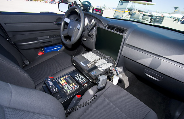 California Highway Patrol Dodge Charger Interior Ken Koller Flickr