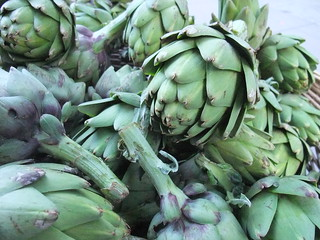 SFO Day 2: Artichokes at the Ferry Plaza Farmers Market | by swampkitty
