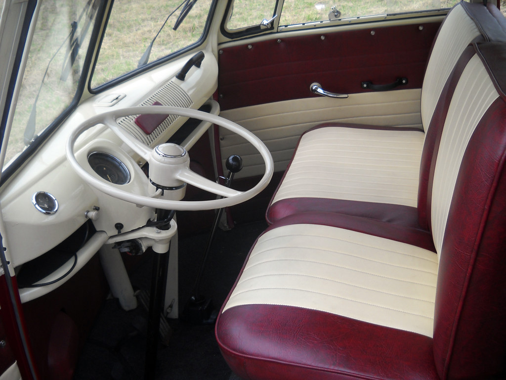 Interior Design Vw T1 Kombi Bus 6 Doors Taxi New Restora Flickr