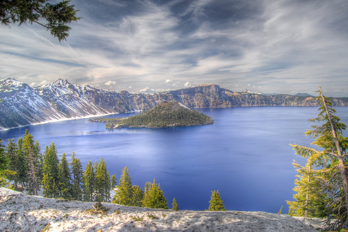 Crater Lake HDR 1 | by ArtBrom
