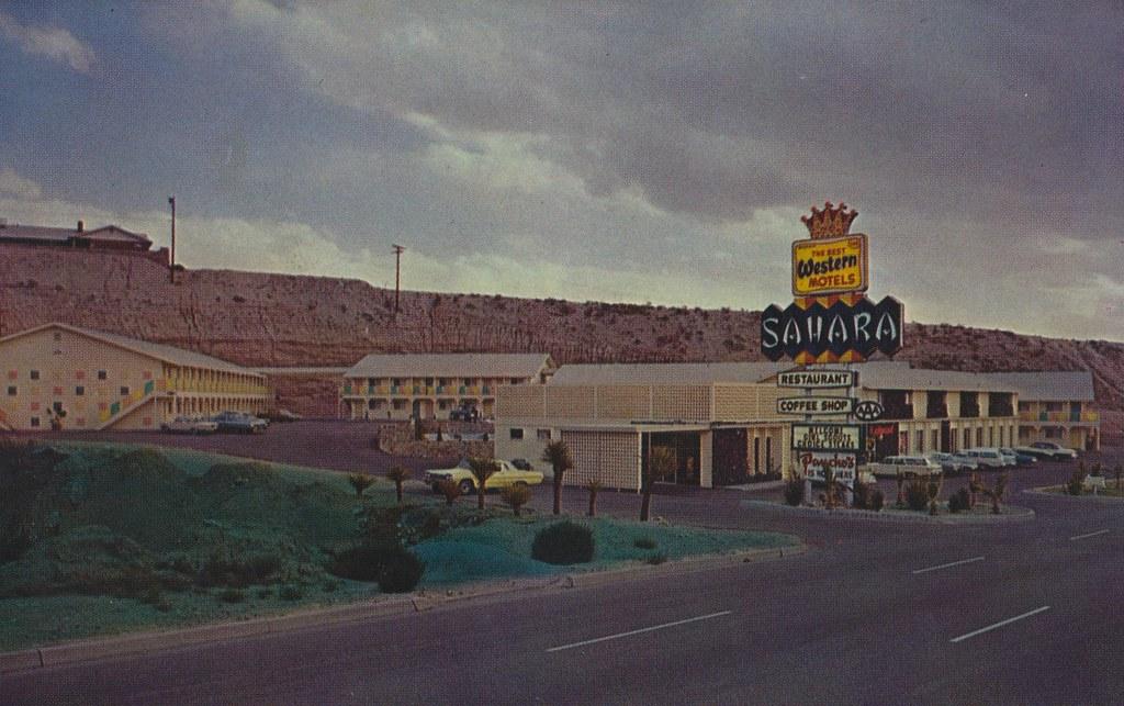 Sahara Motor Inn - El Paso, Texas